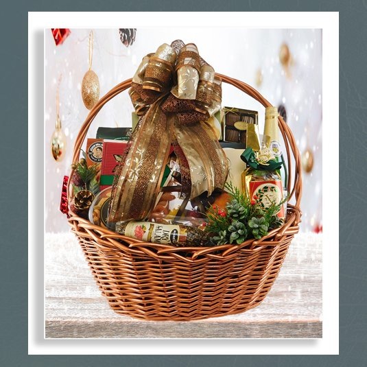 high end Christmas baskets