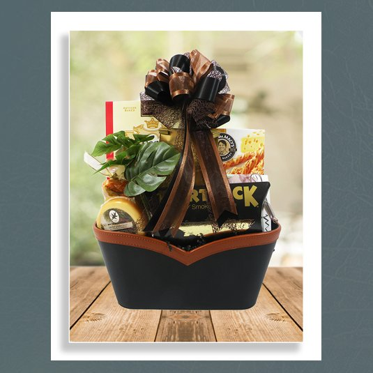 hearty gourmet basket