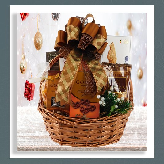 Godiva holiday gift baskets