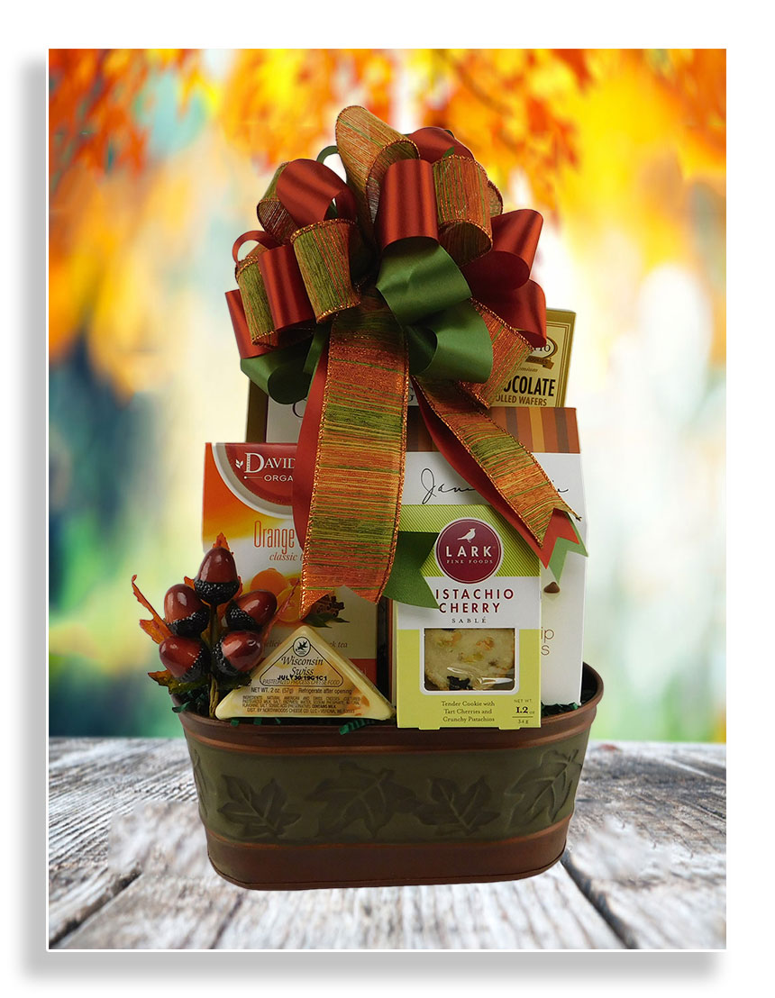 touch of fall gift basket