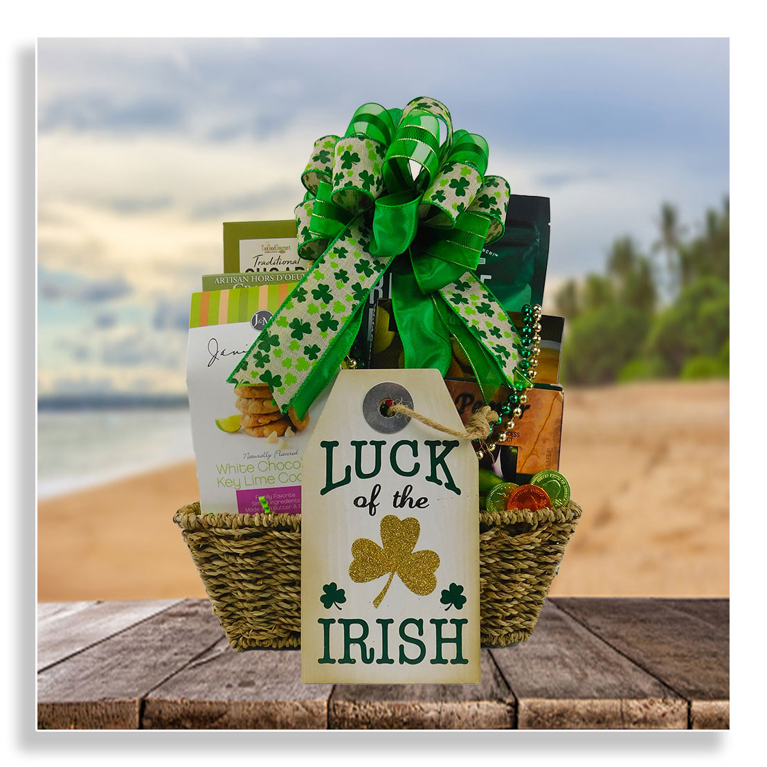 St.Patrick's Day basket