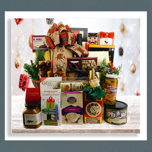 holiday gift baskets over $250.00