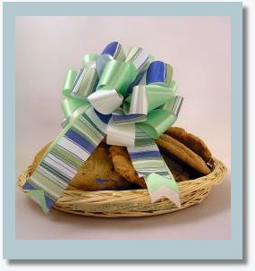 fresh baked cookies basket