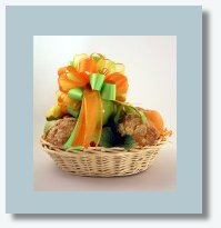 fruit and muffins basket