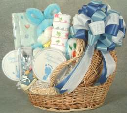 Spoiled Rotten Cradle Basket - Product Image