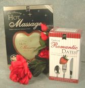 Hot massage and romantic date kits - Product Image