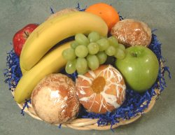 Fruit and Muffin basket - Product Image