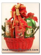 Merry Christmas Basket - Product Image